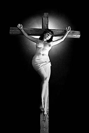 "W002 ""Woman Crucified"" © 1993 R.C. Hörsch / Eroto~"